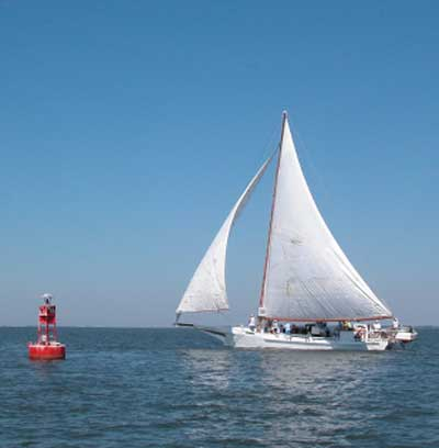 Deal Island Maryland Labor Day Skipjack races